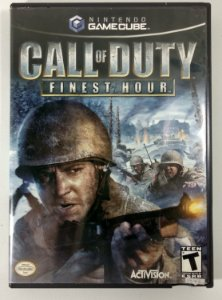 Call of Duty Finest Hour Original - GC