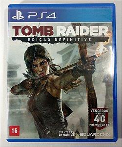 Tomb Raider Edição Definitive - PS4