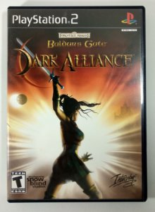 Baldurs Gate Dark Alliance Original - PS2