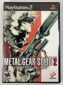 Metal Gear Solid 2 Original - PS2