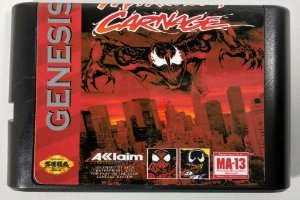 Jogo Spider-man and Venom Maximum Carnage - Mega Drive