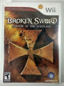 Broken Sword Original (Lacrado) - Wii