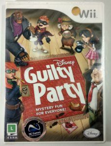 Guilty Party Original (Lacrado) - Wii