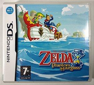 Zelda Phatom Hourglass Original [EUROPEU] - DS
