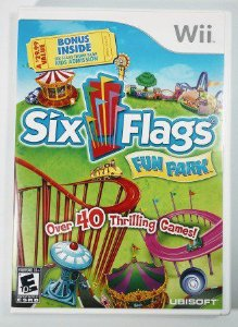 Jogo Six Flags Fun Park Original - Wii