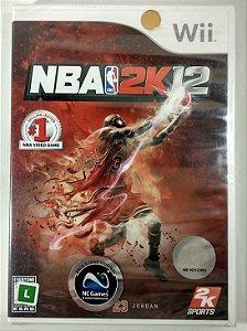 NBA 2k12 Original (Lacrado) - Wii