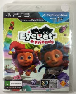 Eye pet & Friends (Lacrado) - PS3