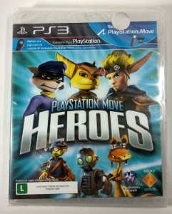 Playstation Move Heroes (Lacrado) - PS3
