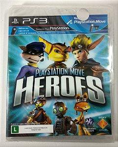 Jogo Playstation Move Heroes (Lacrado) - PS3
