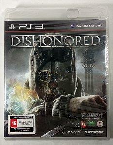 Jogo Dishonored (Lacrado) - PS3