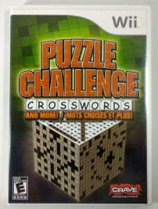 Puzzle Challenge Crosswords Original - Wii