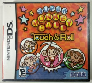 Super Monkey Ball Touch & Roll Original (LACRADO) - DS