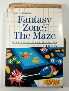 Fantasy Zone: The Maze - Master System
