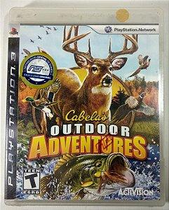 Cabelas outdoor Adventures (Lacrado) - PS3