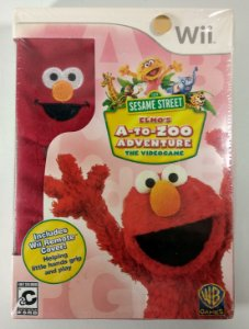 Elmos A to Zoo Adventure Original (Lacrado) - Wii