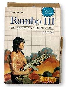 Jogo Rambo III - Master System
