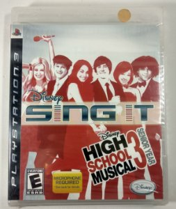 Sing It High School Musical 3 Senior Year (Lacrado) - PS3