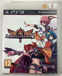 Arcana Heart 3 (Lacrado) - PS3