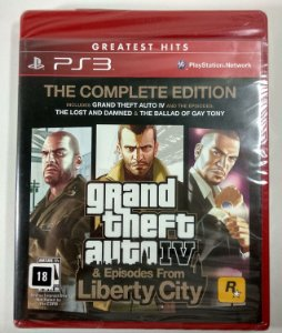 GTA IV The Complete Edition (Lacrado) - PS3