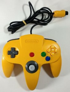 Controle Original Amarelo - N64