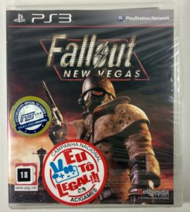 Fallout New Vegas (Lacrado) - PS3