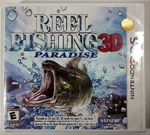 Reel Fishing paradise 3D Original (Lacrado) - 3DS