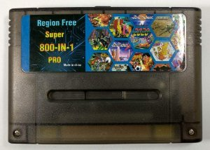 800 in 1 (Flashcard Super Ever drive CH) - SNES