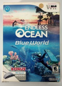 Endless Ocean Blue World Original (Lacrado) - Wii
