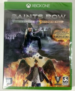 Saints Row IV Re-Elected & Gat out of Hell (Lacrado) - Xbox One