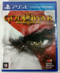 God of War III Remasterizado (lacrado) - PS4