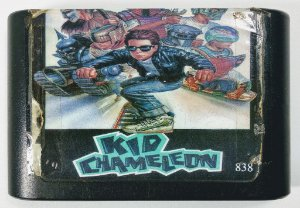 Jogo Kid Chameleon - Mega Drive