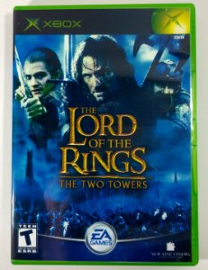 The Lord of The Rings The Two Towers Original - Xbox Clássico