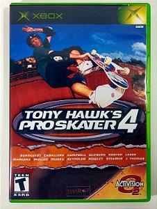 Tony Hawk's Pro Skater 4 Original - Xbox Clássico