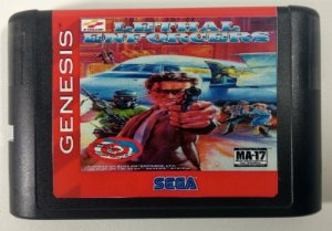 Lethal Enforcers - Mega Drive