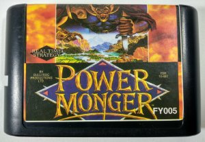 Power Monger - Mega Drive