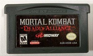 Mortal Kombat Deadly Alliance ORIGINAL - GBA