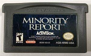Jogo Minority Report ORIGINAL - GBA