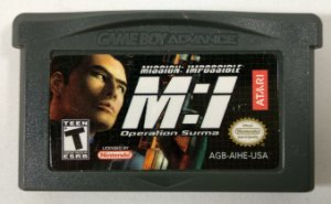 Mission: Impossible Operation Suma ORIGINAL - GBA