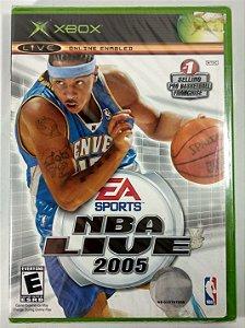 NBA Live 2005 Original (LACRADO) - Xbox Clássico