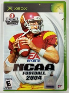 NCAA Football 2004 Original (LACRADO) - Xbox Clássico