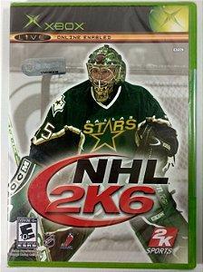 NHL 2K6 Original (LACRADO) - Xbox Clássico