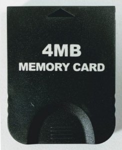 Memory Card 4MB (59 Blocos) - Game Cube
