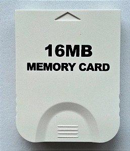 Memory Card 16 MB (251 Blocos) - Game Cube