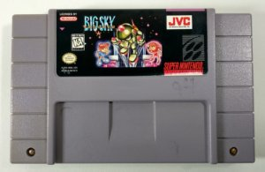 Big Sky Trooper Original - SNES