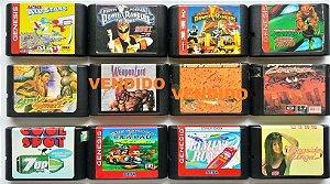 Jogos Variados (cada)  -  Mega Drive