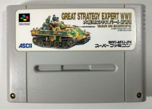 Daisenryaku Expert WWII: War in Europe - Super Famicom