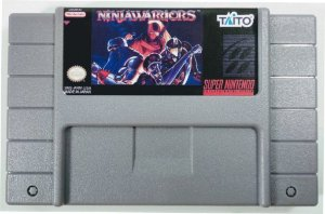 Jogo Ninja Warriors - SNES