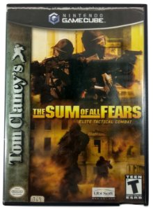 Tom Clancy's the Sum of all Fears Original - GC