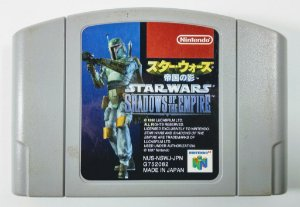 Star Wars Shadows of the Empire Original [JAPONÊS] - N64