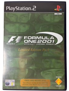 Formula One 2001 Limited Edition Pack Original [EUROPEU] - PS2